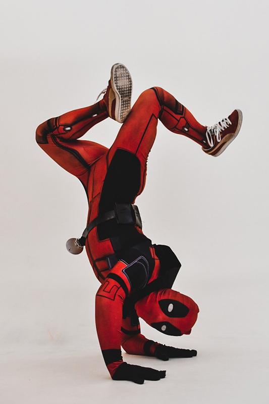 Танцевальное шоу от супер героев 4