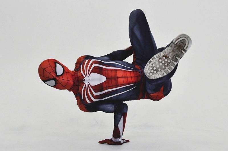Танцевальное шоу от супер героев 1