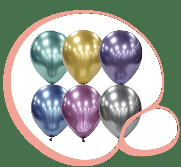 Латексный шар Хром