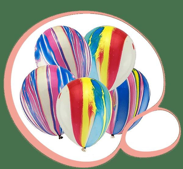 Латексный шар Агат