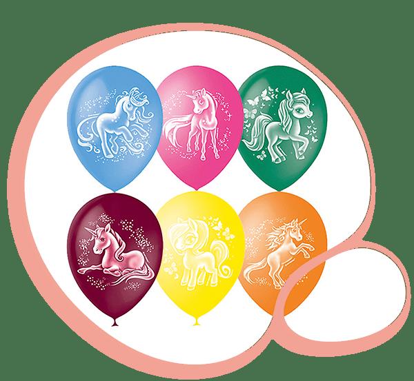 Латексный шар с рисунком
