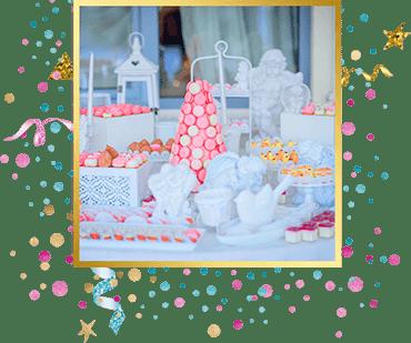организация детского праздника Кенди бар