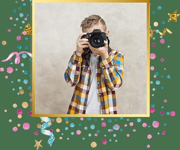 организация детского праздника Фотограф