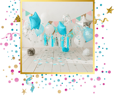 организация детского праздника Оформление шарами