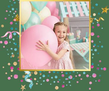 организация детского праздника Шар-сюрприз