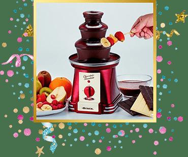 организация детского праздника Шоколадный фонтан