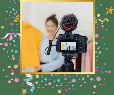 организация детского праздника Видеосьемка