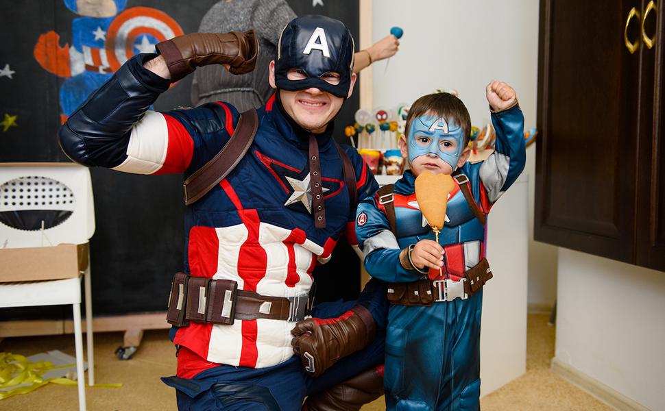 Аниматор Капитан Америка 2