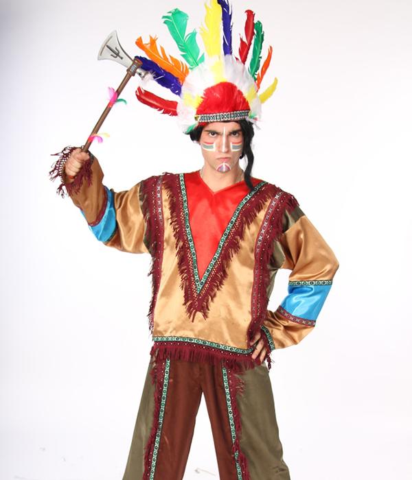 Аниматоры индейцы 1