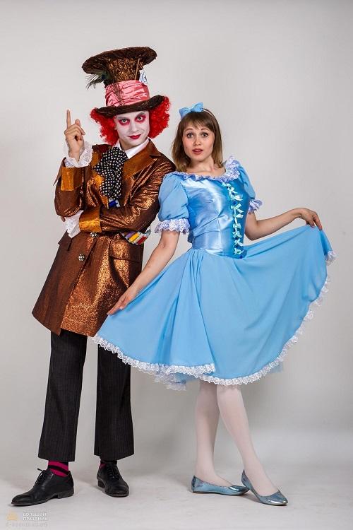Аниматоры Алиса и Шляпник
