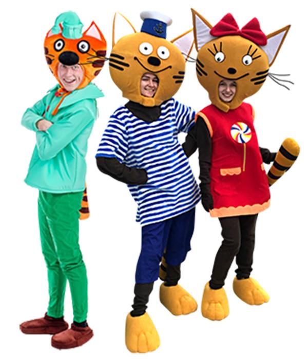 Аниматоры Три кота 1